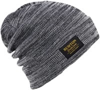 Burton Kactusbunch Tall Beanie - true black/stout white marle
