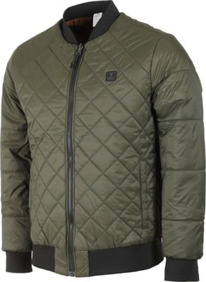 Roark Great Heights Primaloft Reversible Bomber Jacket - military - view large