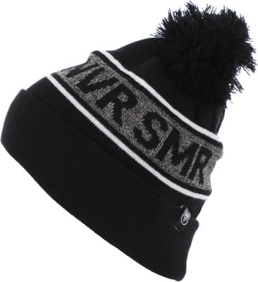 Never Summer NVR SMR Pom Beanie - black/salt/pepper - view large