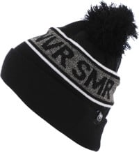 Never Summer NVR SMR Pom Beanie - black/salt/pepper