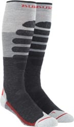 Burton Performance Plus Midweight Snowboard Socks - gray heather