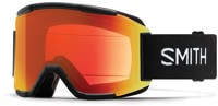 Smith Squad ChromaPop Goggles + Bonus Lens - black/everyday red mirror lens + standard yellow lens