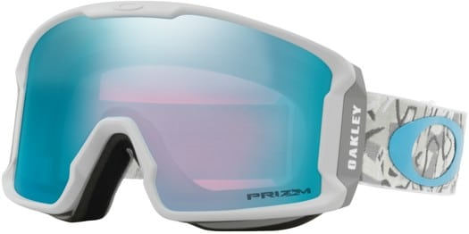 Oakley Line Miner Xm Goggles Camo Vine Snow Prizm Snow