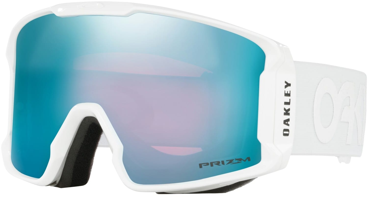 Oakley Line Miner Goggles Factory Pilot Whiteout Prizm