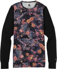 Burton Women's Midweight Crew - prickly pear/true black