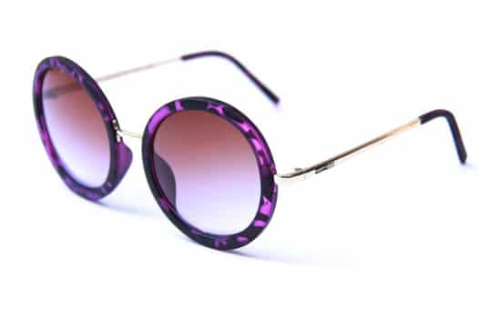 Happy Hour Squares Sunglasses - braydon purple tort - view large