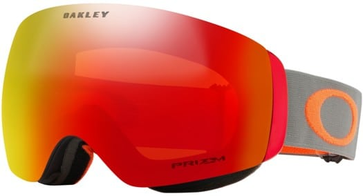 Oakley Flight Deck XM Goggles - brush orange/prizm snow torch iridium lens - view large