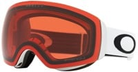 Oakley Flight Deck XM Goggles - matte white/prizm snow rose lens