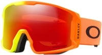 Oakley Line Miner Goggles - olympic harmony fade/prizm snow torch lens