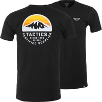Tactics Bachelor T-Shirt - black