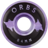 Orbs Specters Skateboard Wheels - purple/white swirl (99a)