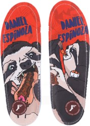Footprint Gamechangers Custom Orthotics 6mm Insoles - espinoza sloth