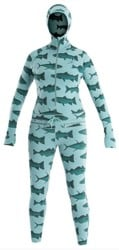 Airblaster Women's Merino Ninja Suit - mint fish