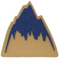 Burton Foam Mat Stomp Pad - mountain logo