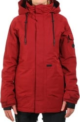 Volcom Shrine Insulated Jacket - burnt red
