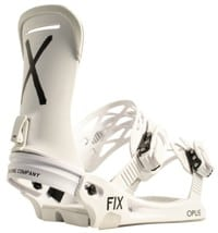 Fix Opus Women's Snowboard Bindings 2019 - white