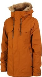 Volcom Shadow Insulated Jacket - copper