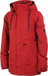 Volcom Shrine Insulated Jacket (Closeout) - burnt red