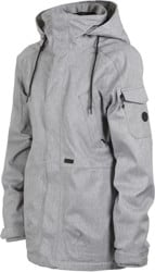 Volcom Shrine Insulated Jacket (Closeout) - heather grey