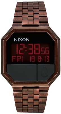 Nixon Re-Run Watch - antique copper - view large