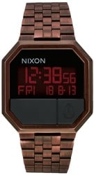 Nixon Re-Run Watch - antique copper