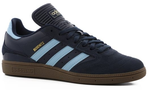 Adidas Busenitz Pro Skate Shoes - collegiate navy/clear blue/gum5 - view large