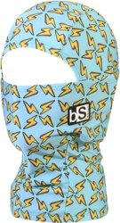 BlackStrap The Kids Hood Balaclava - lightning bolts