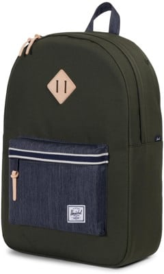 Herschel Supply Heritage Backpack - offset forest night/dark denim - view large