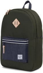 Herschel Supply Heritage Backpack - offset forest night/dark denim