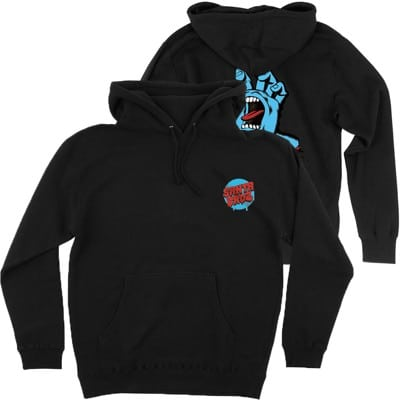 Santa Cruz Kids Screaming Hand Hoodie - black - view large