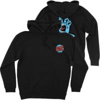 Santa Cruz Kids Screaming Hand Hoodie - black