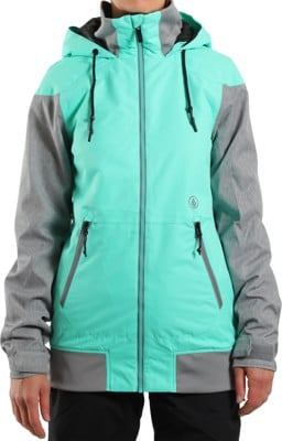 Volcom Meadow Insulated Jacket - jade - alternate - view large