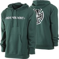 Independent Bar/Cross Hoodie - alpine green