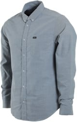 RVCA That'll Do Stretch L/S Shirt - seattle blue
