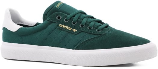 Adidas 3MC Skate Shoes - collegiate green/white/collegiate green - view large