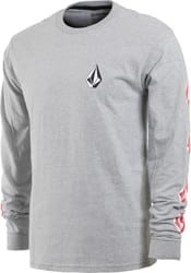 Volcom Deadly Stones L/S T-Shirt - heather grey