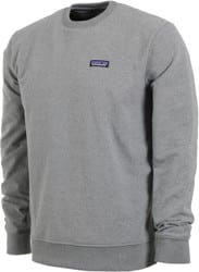 Patagonia P-6 Label Uprisal Crew - gravel heather