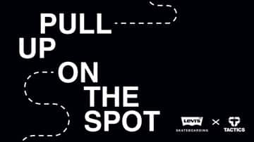 Levi's x Tactics Pull Up On the Spot | October 28 | 1-4 p.m.