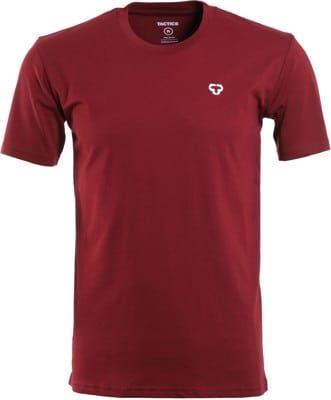 Tactics Icon T-Shirt - burgundy - view large