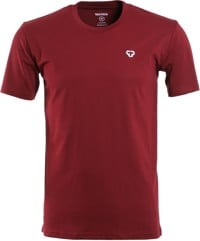 Tactics Icon T-Shirt - burgundy
