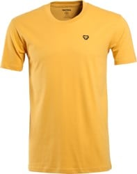 Tactics Icon T-Shirt - mustard