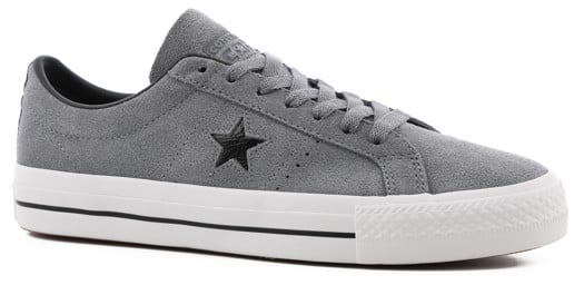 Converse One Star Pro Skate Shoes - cool grey/black/white - view large