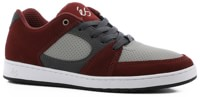 eS Accel Slim Skate Shoes - red/grey