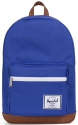 Herschel Supply Pop Quiz Backpack - deep ultramarine/tan