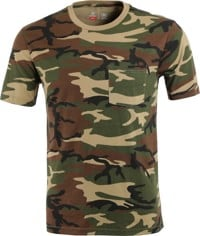 Brixton Basic Pocket T-Shirt - camo