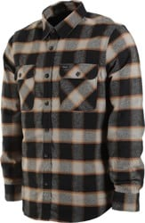 Brixton Bowery Flannel - black/cream