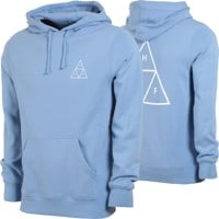 HUF Essentials Triple Triangle Hoodie - forever blue