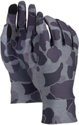 Burton Touchscreen Liner Gloves - grayscale duck
