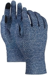 Burton Touchscreen Liner Gloves - mood indigo twill
