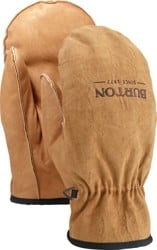 Burton Work Horse Leather Mitts - raw hide